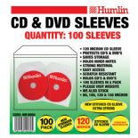 40 packs Humlin 120 Micron CD DVD sleeves